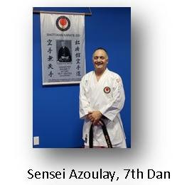 Sensei Azoulay, 7th Dan