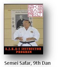 Sensei Safar, 9th Dan